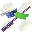 Codice BV001S5 - PLASTIC OR VYNIL WRISTBANDS WITH 5 STUBS